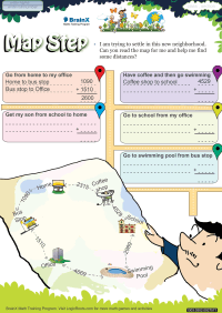 Map Step worksheet