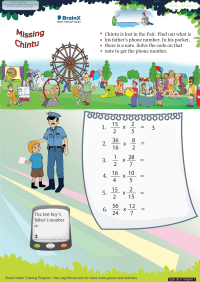 Missing Chintu worksheet