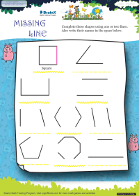 Missing Line worksheet