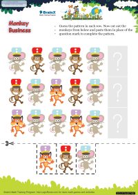 Monkey Business worksheet