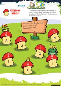 Mushroom madness worksheet