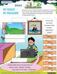 My House My Measure worksheet