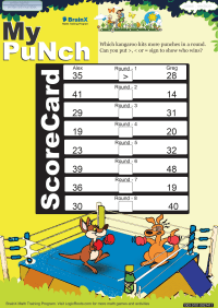 My punch worksheet