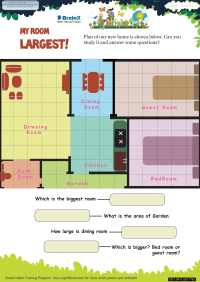 My Room Largest worksheet