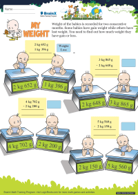 My Weight worksheet