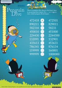 Penguin Dive worksheet