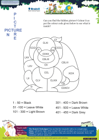Picture In Picture Dog worksheet