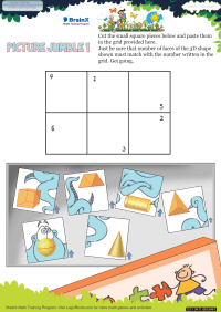 Picture Jumble 1 worksheet