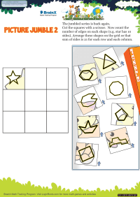 Picture Jumble 2 worksheet