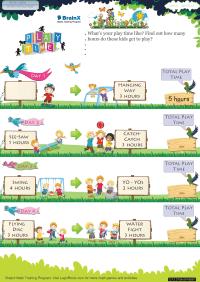 Play Time worksheet