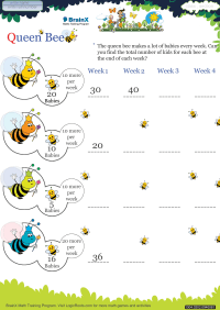 Queen Bee worksheet
