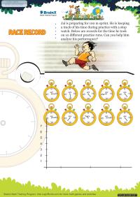 Race Record worksheet