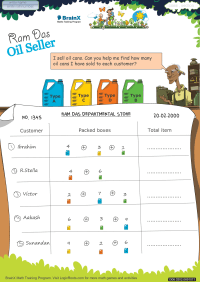 Ramdas Oil Seller worksheet