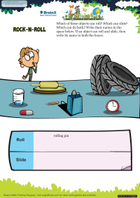 Rock N Roll worksheet