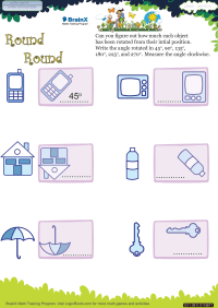 Round Round worksheet