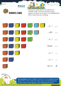 Rubiks Cube worksheet