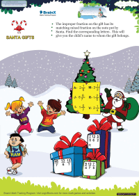 Santa Gifts worksheet