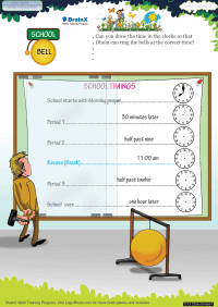 School Bell worksheet
