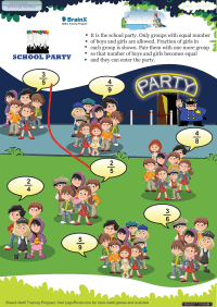 School Party worksheet