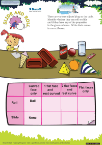 Slide And Roll worksheet