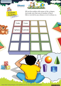Sudoku Sudoku Shapes worksheet