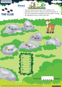 The Clue worksheet