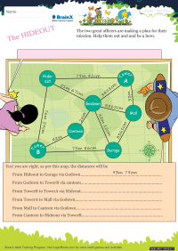 The Hide Out worksheet