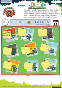 Thief Catcher worksheet