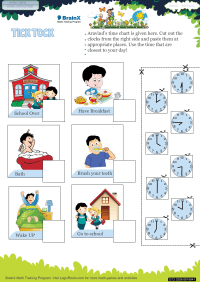 Tick Tock worksheet