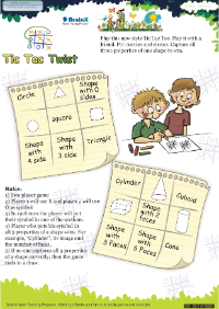 Tic Tac Twist worksheet
