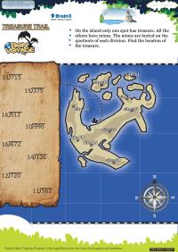 Treasure Trail Bon Voyage worksheet