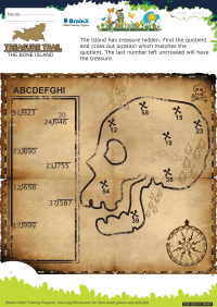 Treasure Trail The Bone Island worksheet