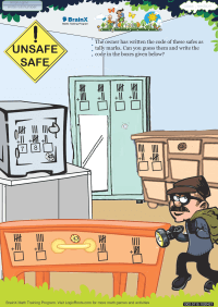 Unsafe Safe worksheet