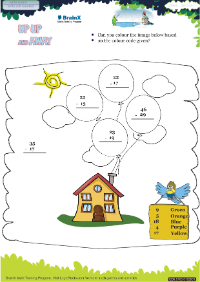 Up Up And Away worksheet