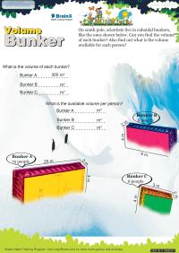 Volume Bunker worksheet