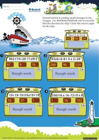 Voyager worksheet