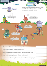 Water Supply worksheet
