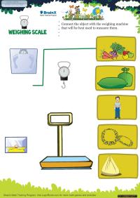 Weighing Scale worksheet