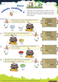 Whats Cooking 1 worksheet