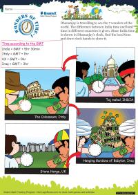 Wonders Of Time 1 worksheet